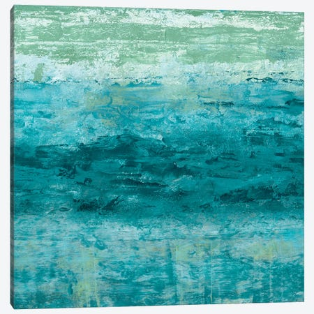 Aegean Seas I Canvas Print #LER64} by Sharon Chandler Canvas Art Print