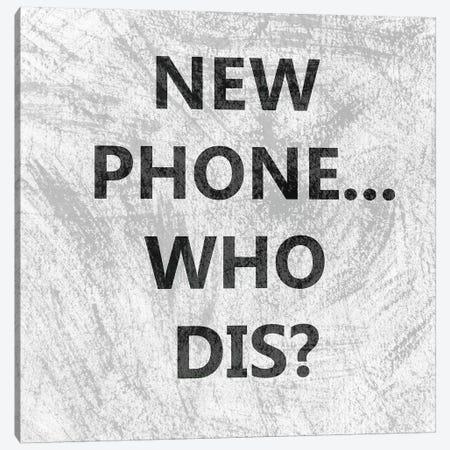 Phone Snark I Canvas Print #LER66} by Sharon Chandler Art Print