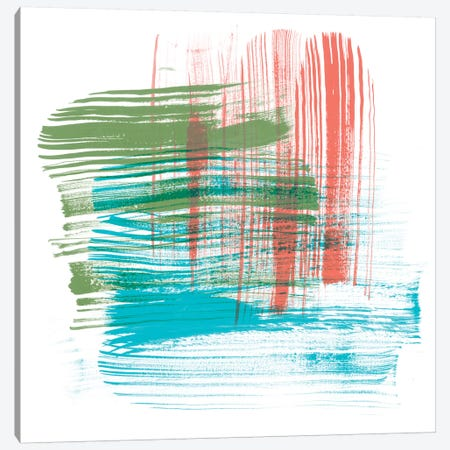 Color Swipe I 3-Piece Canvas #LER70} by Sharon Chandler Canvas Art Print