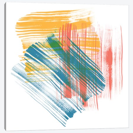 Color Swipe II Canvas Print #LER71} by Sharon Chandler Canvas Art Print