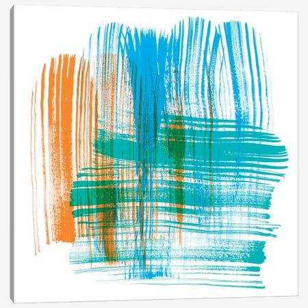 Color Swipe III Canvas Print #LER72} by Sharon Chandler Canvas Print