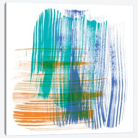 Color Swipe IV Canvas Print #LER73} by Sharon Chandler Art Print