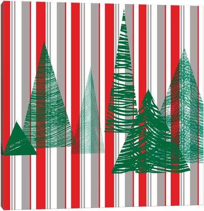 Oh Christmas Tree III Canvas Art Print