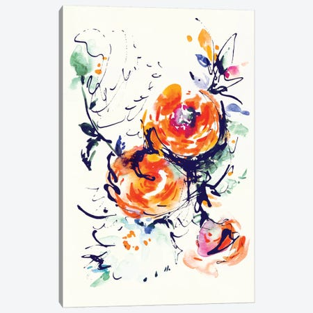 Fire Canvas Print #LES10} by Lesia Binkin Canvas Artwork