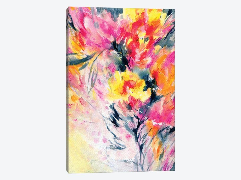 Happy With You by Lesia Binkin 1-piece Canvas Art Print
