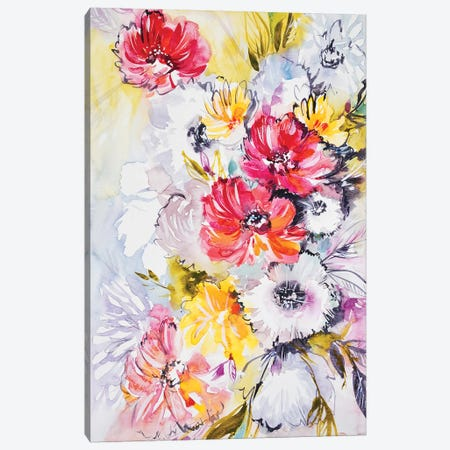 Joyful Canvas Print #LES118} by Lesia Binkin Canvas Print