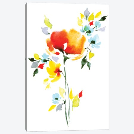 Fresh I Canvas Print #LES11} by Lesia Binkin Canvas Art