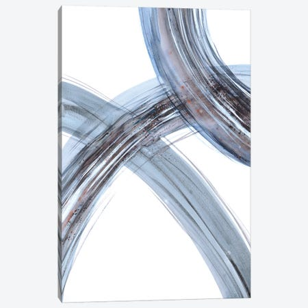 Lines II Canvas Print #LES121} by Lesia Binkin Canvas Wall Art