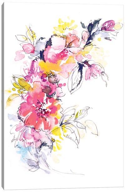 In My Garden Canvas Print #LES12