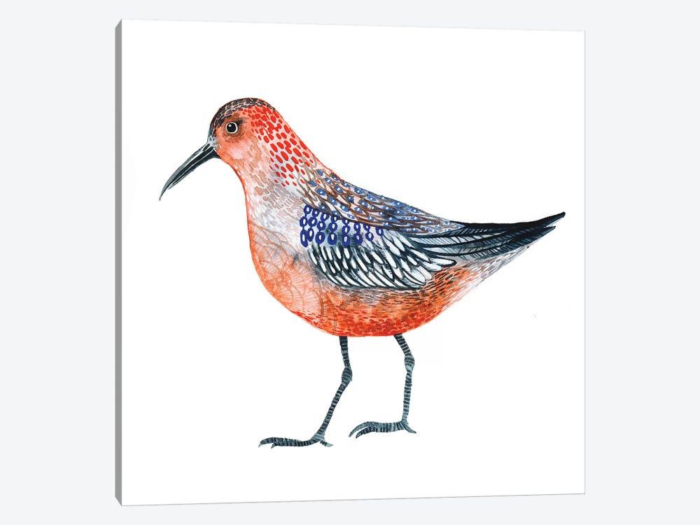Red Bird by Lesia Binkin 1-piece Canvas Art