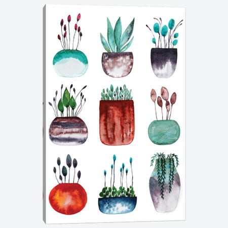 Tiny Collection Canvas Print #LES137} by Lesia Binkin Canvas Art
