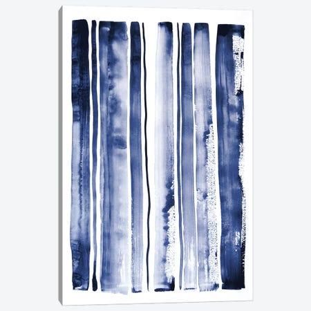 Blue Rain II Canvas Print #LES142} by Lesia Binkin Canvas Wall Art