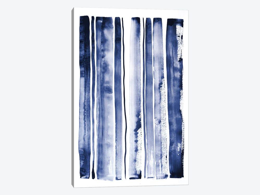 Blue Rain II by Lesia Binkin 1-piece Canvas Print