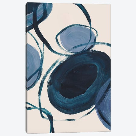 Connections Canvas Print #LES149} by Lesia Binkin Canvas Wall Art