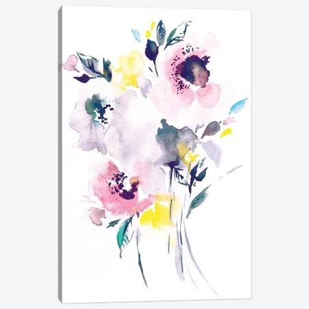 Jessy Canvas Print #LES14} by Lesia Binkin Art Print