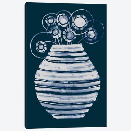 New Vase Canvas Print #LES173} by Lesia Binkin Canvas Print
