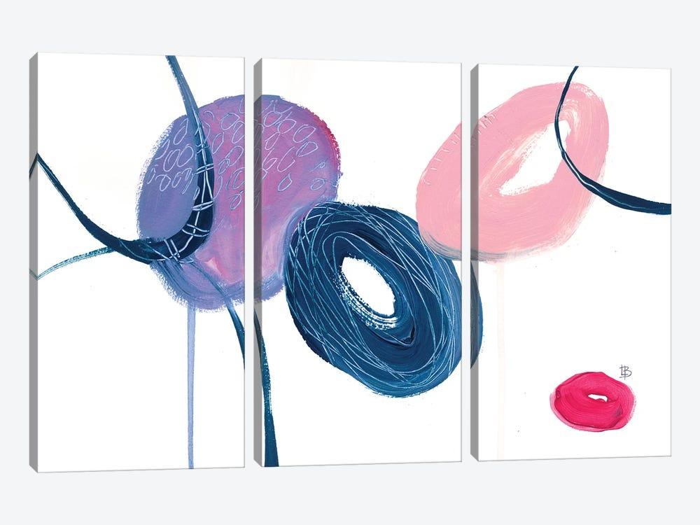 Together by Lesia Binkin 3-piece Canvas Art Print