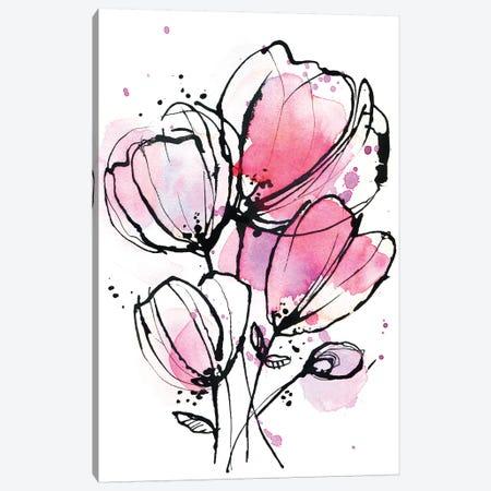 Pink Mod 1 Canvas Print #LES198} by Lesia Binkin Art Print