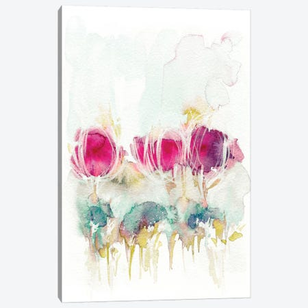 Spring In The Air Canvas Print #LES19} by Lesia Binkin Canvas Wall Art