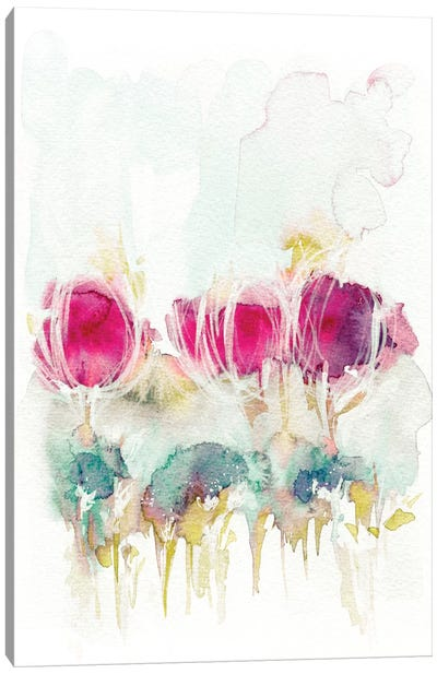 Spring In The Air Canvas Art Print