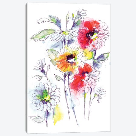 August Canvas Print #LES1} by Lesia Binkin Canvas Wall Art