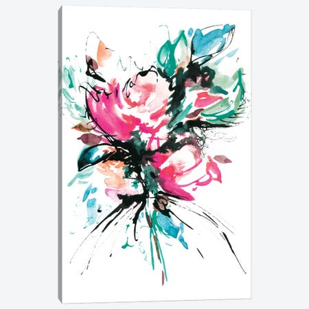 The Splash Canvas Print #LES24} by Lesia Binkin Canvas Art