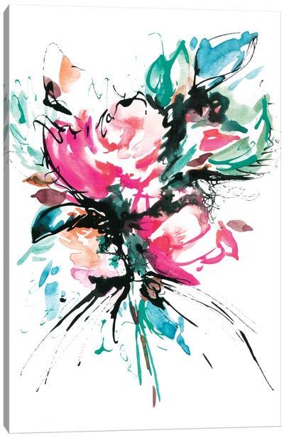 The Splash Canvas Print #LES24