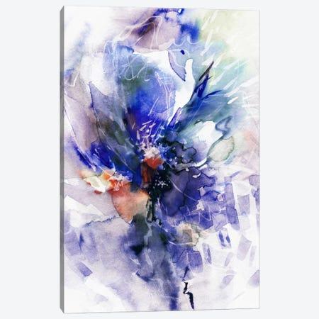 Blue Wind Canvas Print #LES30} by Lesia Binkin Canvas Art