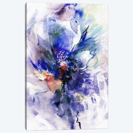 Blue Wind Canvas Print #LES30} by Lesia Binkin Canvas Art