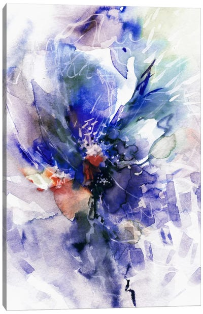 Blue Wind Canvas Art Print