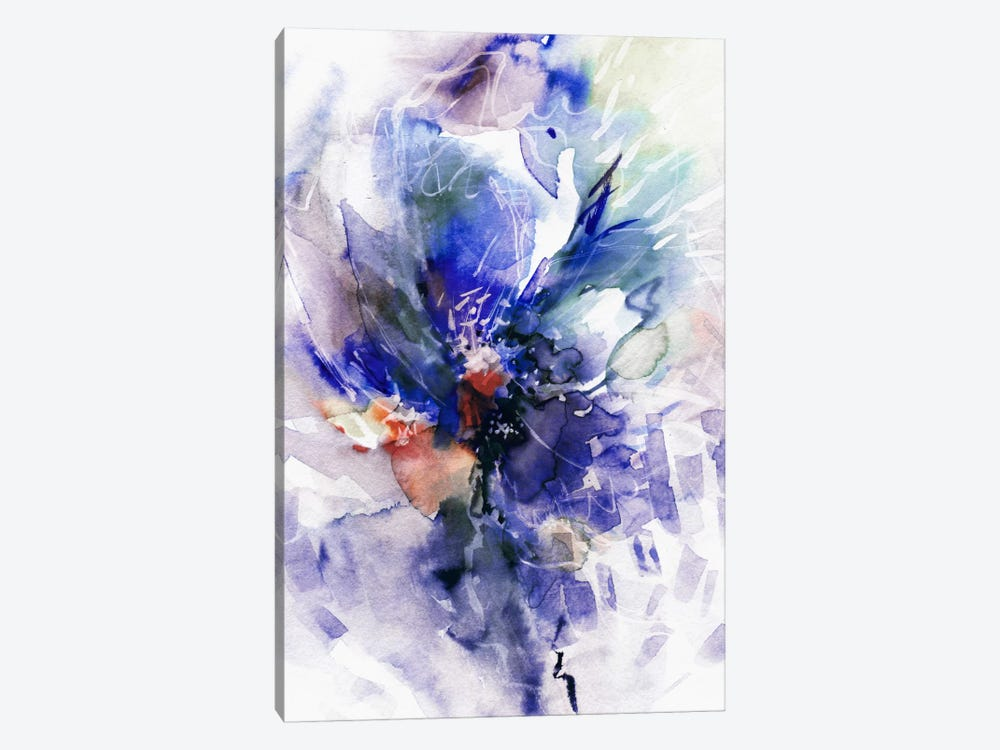 Blue Wind 1-piece Canvas Art