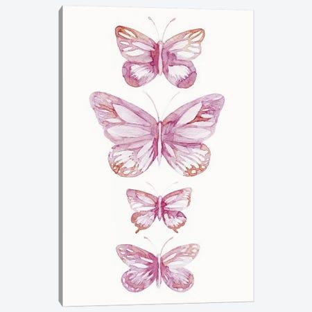 Butterflies Canvas Print #LES31} by Lesia Binkin Canvas Art