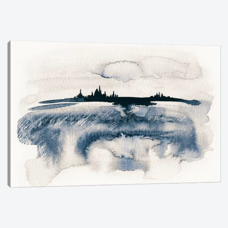 Distant Light Canvas Print #LES34} by Lesia Binkin Art Print
