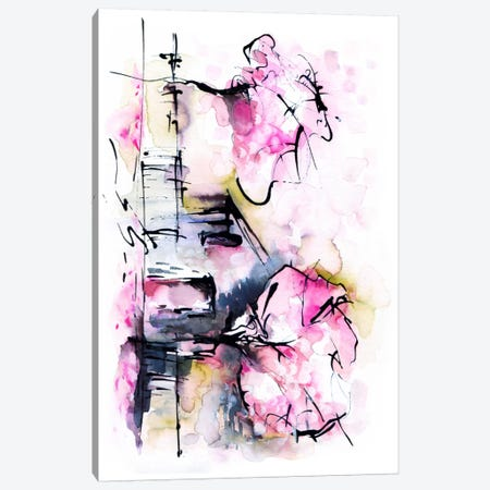 Dream House Canvas Print #LES35} by Lesia Binkin Canvas Print
