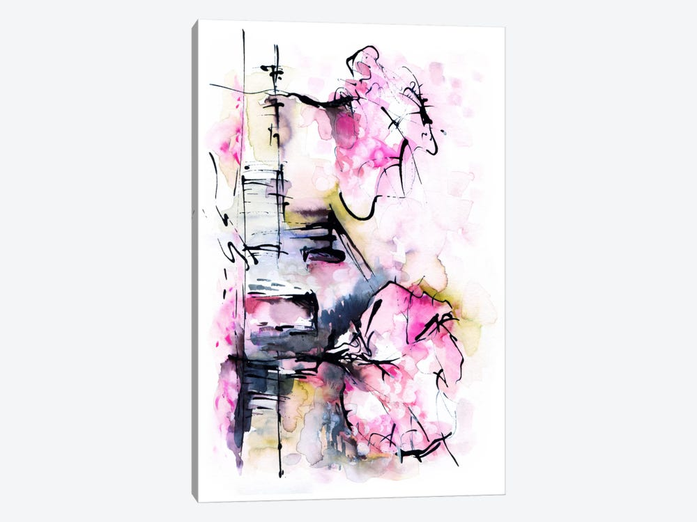 Dream House by Lesia Binkin 1-piece Canvas Print