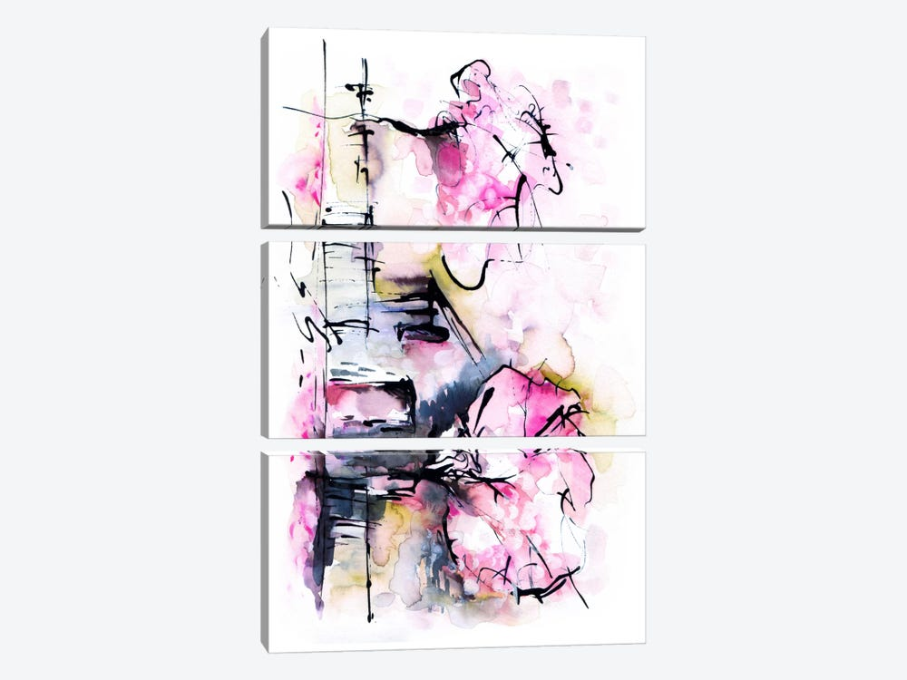 Dream House by Lesia Binkin 3-piece Art Print