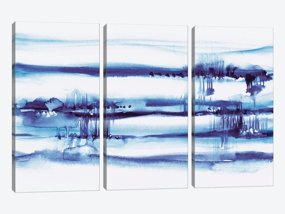 Far Away I by Lesia Binkin 3-piece Canvas Art