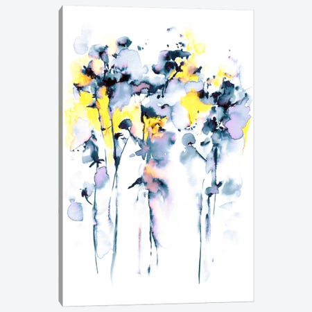 Fields Of Joy Canvas Print #LES40} by Lesia Binkin Canvas Art Print