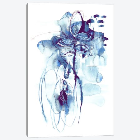 First Rain Canvas Print #LES41} by Lesia Binkin Art Print