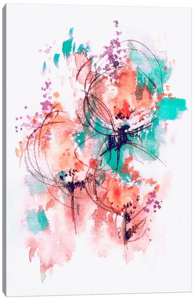 Flower Fire Canvas Art Print