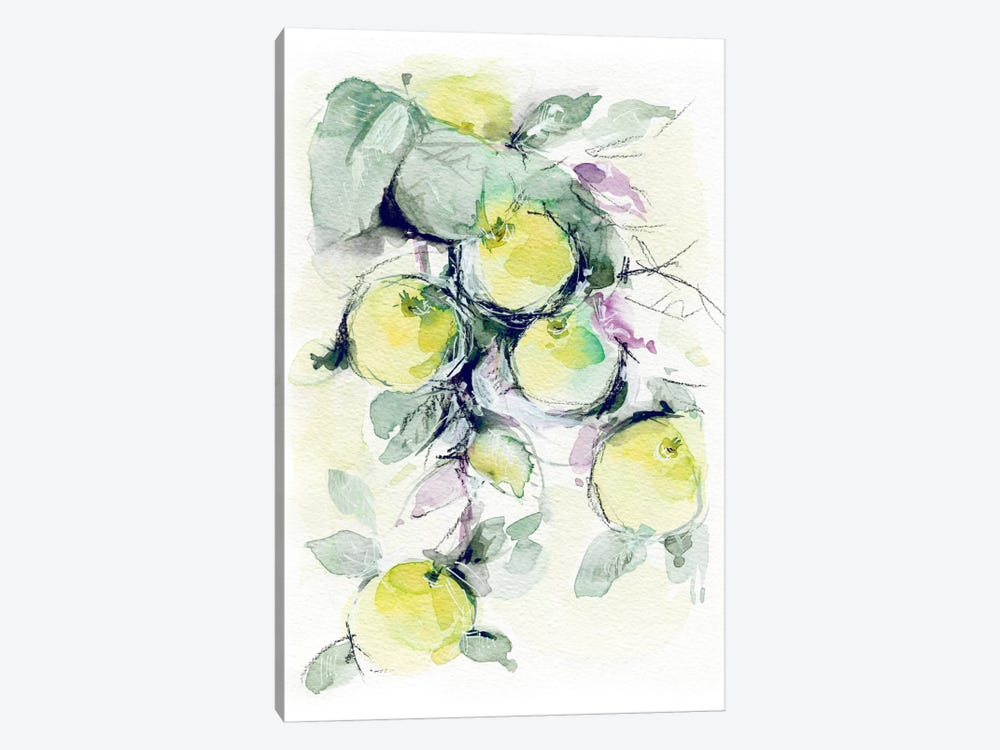 Golden Apples by Lesia Binkin 1-piece Canvas Artwork