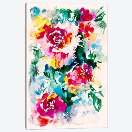 Lake Of Colors Canvas Print #LES48} by Lesia Binkin Art Print