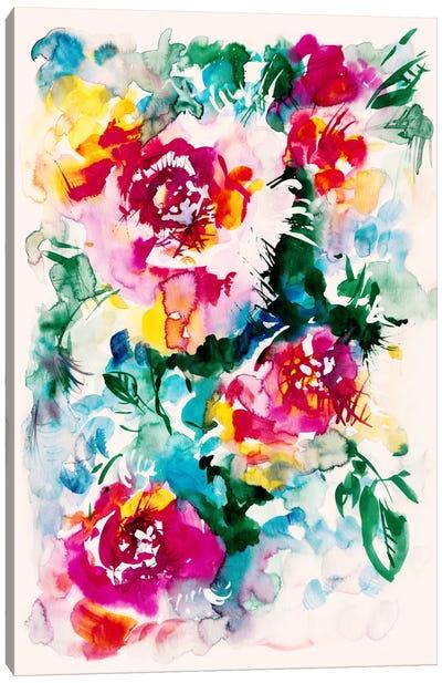 Lake Of Colors Canvas Art Print