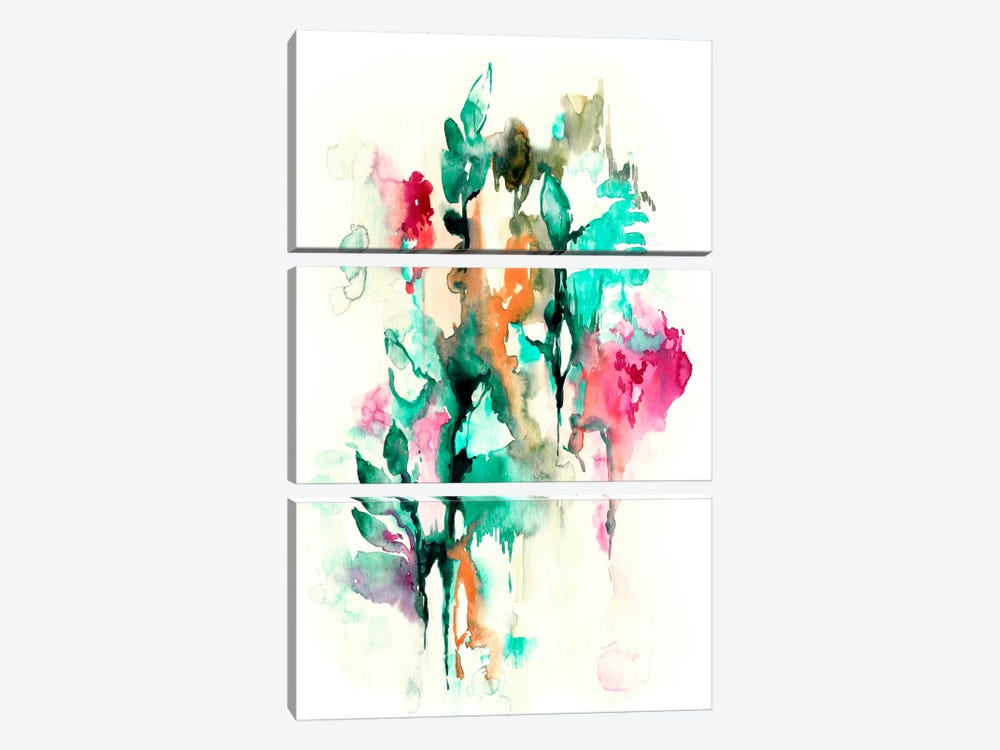 Moonlight Jade by Lesia Binkin 3-piece Canvas Print