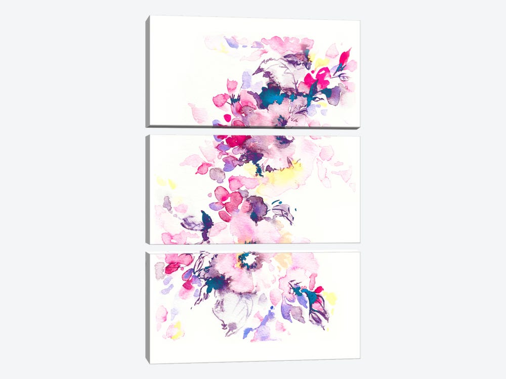 Spring by Lesia Binkin 3-piece Canvas Artwork