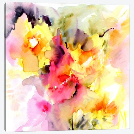 Sunny I Canvas Print #LES60} by Lesia Binkin Canvas Print