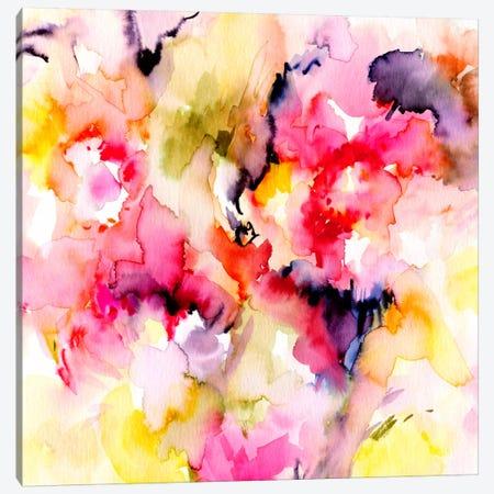 Sunny II Canvas Print #LES61} by Lesia Binkin Art Print