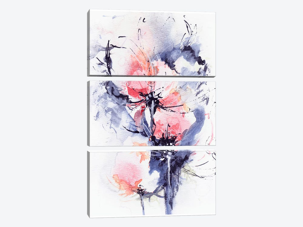 Wind by Lesia Binkin 3-piece Canvas Print