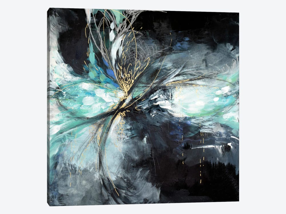 Windy Night by Lesia Binkin 1-piece Canvas Artwork