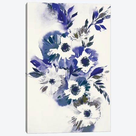 Blue Bouquet II Canvas Print #LES75} by Lesia Binkin Art Print